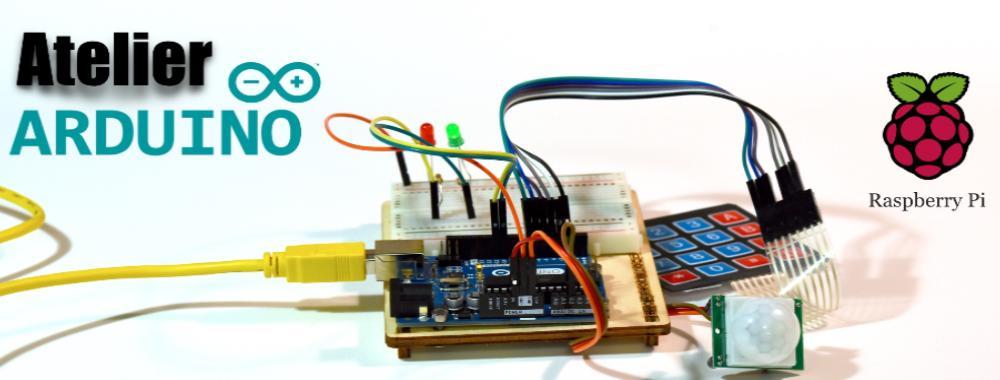 Ateliers Arduino, robotiques